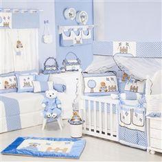 Quarto para bebê: Cerquinha Azul