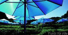 Christo und Jeanne-Claude - Umbrellas Blue 3