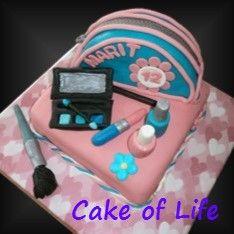 #make-up #taart #toilettas #verjaardag