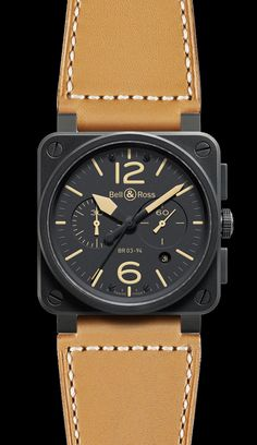 Bell and Ross watch...also going in the collection