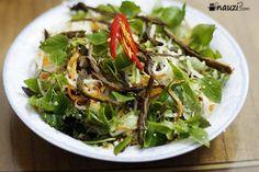 Lai rai Nộm su hào thịt bò khô - món ăn vặt tại gia :D