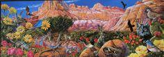 Larry Eifert Capitol Reef National Park Utah Panoramic Puzzle 700 Pc Sealed RARE #Ceaco