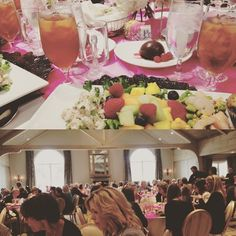 At the AWC Awards luncheon today! Some seriously inspirational ladies were in attendance. #tulsa #communications #media #luncheon
