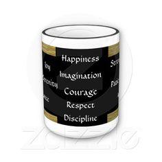 Drink of Wisdom Virtue Inspirational Mug