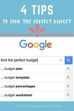 Finding a budget that works for you is not as easy as you would think. I have written 4 tips to make the process a bit easier!