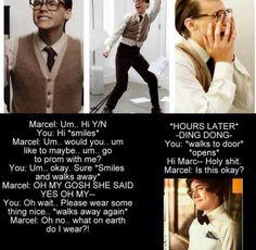 I still like nerd Marcel