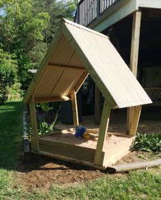Sandbox Woodworking Plans