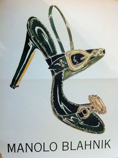 manolo blahnik This style of shoe is the most comfortable, why don't we see more shoes made this way
