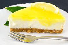 Nepečená citrónová torta