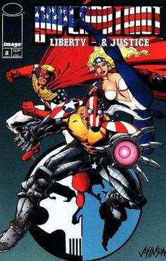 SuperPatriot (1992), Liberty and Justice (1994), Image Comics.