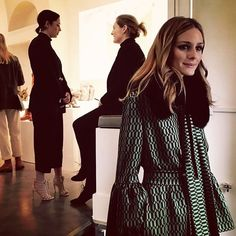 """73 Likes, 1 Comments - @margheperitore on Instagram: """"She made my day and my first press presentation @oliviapalermo  #casadeiframe #mfw #oliviapalermo"""""""