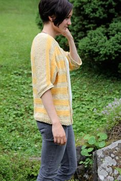 Sunny cardican - free knitting pattern - Pickles