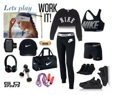 """""""Lets work out  !!!!"""" by noelyg ❤ liked on Polyvore featuring NIKE, Nike Golf and Beats by Dr. Dre"""