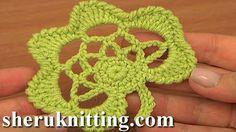 Flor preciosa crochet irlandés