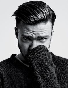He still looks beautiful, yet so sad in this whole spread. I wanna give him a hug! Justin Timberlake in T, The NYT Style Magazine