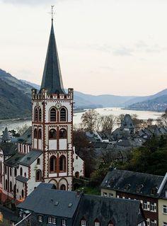 Bacharach on the Rhine// Germany