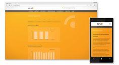 Website Redesign für ALSA Pensionskassse mit Mobile Device optimierung: www.resign.ch/alsapk