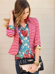 Cute mixed patterns.