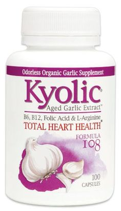 Kyolic Formula 108 Aged Garlic Extract Total Heart Health (100-Capsules) - http://alternative-health.kindle-free-books.com/kyolic-formula-108-aged-garlic-extract-total-heart-health-100-capsules/