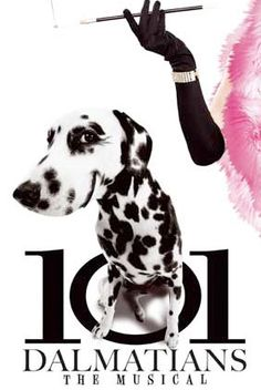 101 Dalmatians - The Musical.  *Some of the Dalmatians in this musical were from the rescue I volunteer for*