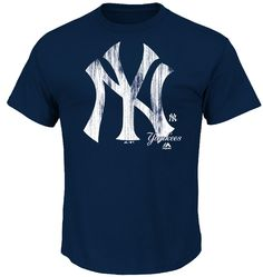 New York Yankees Mens Navy Takin Em to School T Shirt by Majestic $25.95