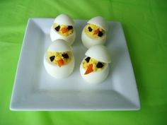 Deviled Chick Eggs!