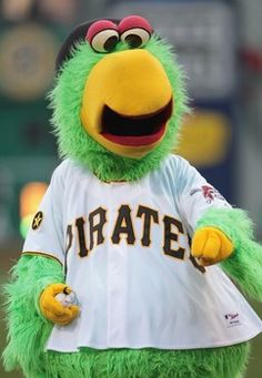 Pirate Parrot, mascot of the Pittsburgh ...