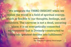 The Celestine Prophecy: Third Insight Experience Study
