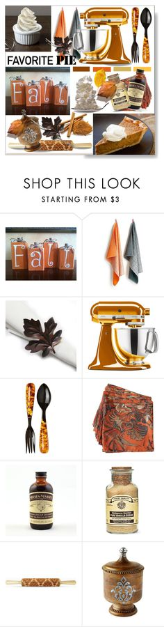 """""""Favorite Pie * Pumpkin"""" by calamity-jane-always ❤ liked on Polyvore featuring interior, interiors, interior design, home, home decor, interior decorating, HAY, KitchenAid, Lily Juliet and Tommy Bahama"""