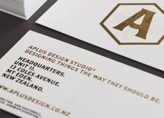 APLUS DESIGN STUDIO 10 YEAR IDENTITY  - STATIONARY