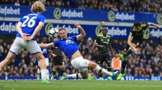 Premier League leaders Chelsea took a big step towards clinching the title as three second-half goals saw them overcome Everton at Goodison Park. www.infini88.com