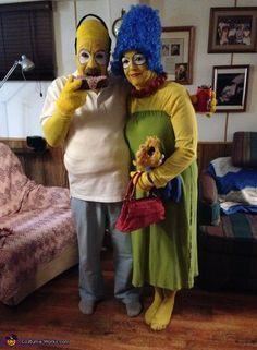 halloween simpsons costumes simpsons halloween and halloween costumes - Simpson Halloween Costume