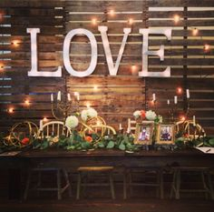 Our booth at the wedding bridal show in Mission Branch!  Vintage, love, rustic…