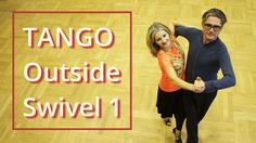 How to Dance Tango? | Outside Swivel 1 | Silver Routine