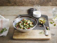 Kukkakaali-Couscous (Alpro Kookos ruoanlaittovalmiste)