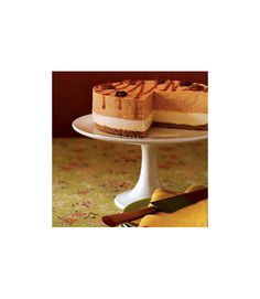 The delicious layers of cake, crumbs and cheesecake filling featuring pumpkin puree and pumpkin pie spice make for a tasty dessert. Spread pecans on the top, and drizzle on caramel sauce to up the fall flavor. Get the recipe.  - WomansDay.com