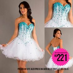 http://www.beadshop.com.br/?utm_source=pinterest&utm_medium=pint&partner=pin13 - Vestidos curtos