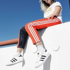 WEBSTA @ pacsun - Three stripe life 👌🏽❤️ #Repost @aboutzoelee in our @adidasOriginals Osaka collection available now.