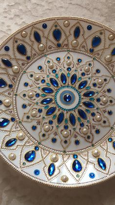 Glass Painting Designs, Dot Art Painting, Mandala Painting, Pottery Painting, Ceramic Painting, Mosaic Crafts, Mosaic Art, Diy Diwali Decorations, Wall Decorations