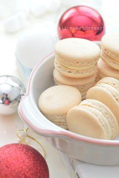 Vanilla Macaron Filling Recipe, Vanilla Macarons, Coconut Macaroons, Vanilla Buttercream, Sweet Desserts, Sweet Recipes, Afternoon Tea Cakes, French Vanilla, Recipe For 4
