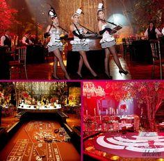 Imagens de referência na realização de evento para apresentação da marca.