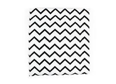 Nobodinoz : Tienda online para bebés, niños y adultos. Manta Copenhague zigzag negro - 3 tallas - mantas - Decoración