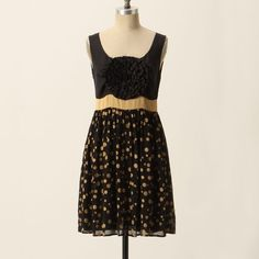 """Anthropologie Grand Cru Dress This stunning dress is a combination of silk, cotton, and polyester with cotton lining. Length of dress is 36.5"""". In excellent, like-new condition. Anthropologie Dresses Prom"""