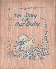 vintage baby book - just like mine