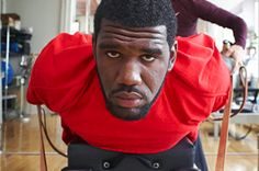 Greg Oden is very, very big. Pilates Reformer Exercises, Super Star, Nba, Peeps, Workouts, Motivation, Studio, Fitness, Sports