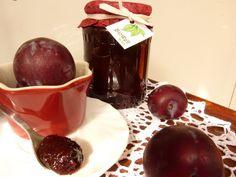 Szilvalekvár Diabetic Recipes, Diet Recipes, Ketchup, Chocolate Fondue, Plum, Spices, Canning, Fruit, Desserts