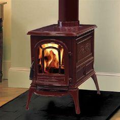 Vermont Castings Aspen Cast Iron Wood Burning Stove