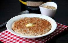 Oatmeal, Pudding, Steel, Breakfast, Ethnic Recipes, Desserts, Food, The Oatmeal, Morning Coffee