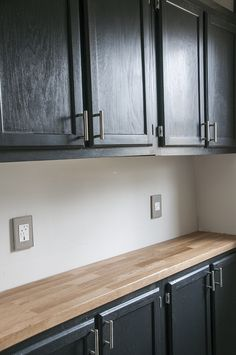 Do it herself workshop on pinterest home depot for How to install a butcher block countertop