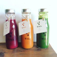 湘南の新鮮野菜果物をぎゅっと搾ったTILLのコールドプレスジュース